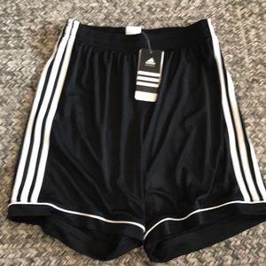 NWT Girls adidas soccer shorts